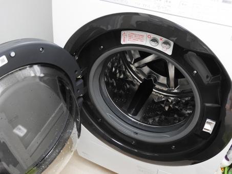 ドラム式洗濯機 大きい