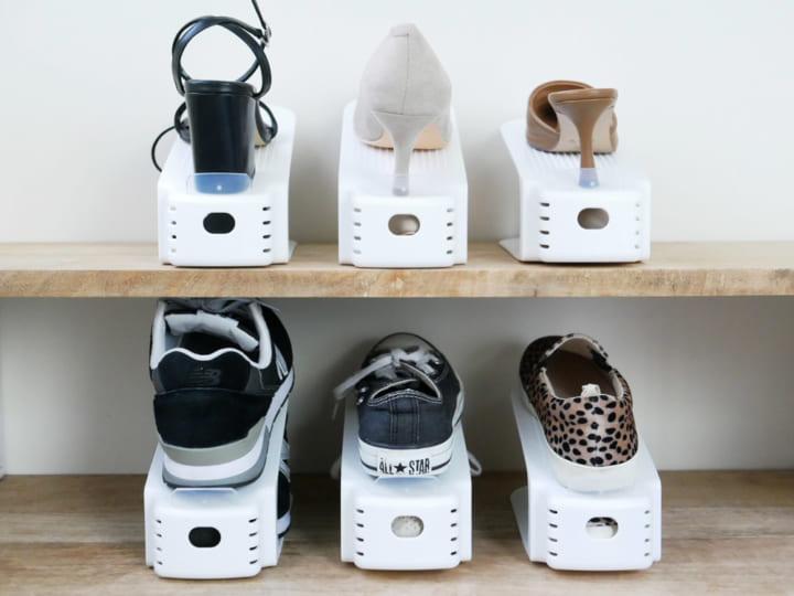 靴 収納 2倍